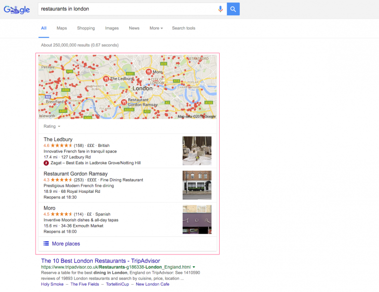 Local SEO - Google